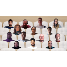 A SHAFE intern meeting in June 2021